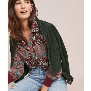 [Anthropologie] NWT Olsen Floral Top